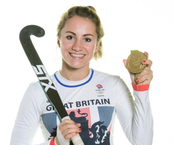 Shona McCallin, hockey player, portrait